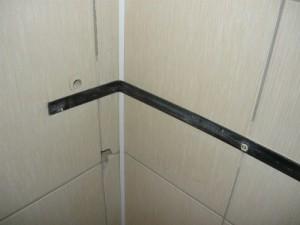 Просверленное отверстие диаметром 20 мм