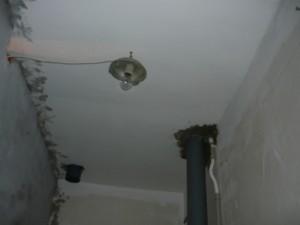 Подвеска светильника к потолку