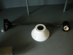 Светильник на гибкой стойке НКПО1У-100-004  36В 50Гц 100Вт