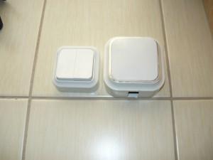 Сравнение выключателей по габаритам