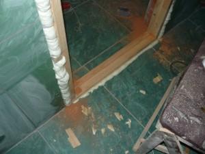 Выставка дверной коробки под обрез дверного проема