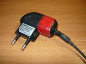 Вид на подготовленное зарядное устройство