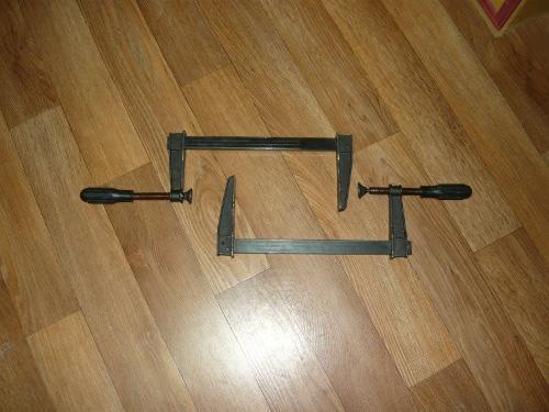 Струбцина для мебели своими руками 8