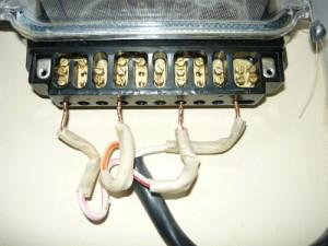 Подключение трехфазного счетчика к электросети ( вход )