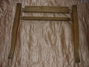 Подготовка к склейке передней части стула