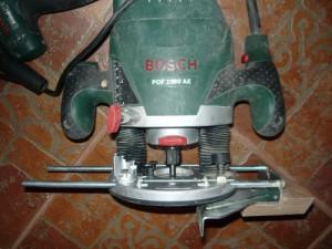 Фрезер для обработки древесины фирмы BOSCH