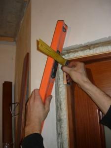 Измерение для установки боковины
