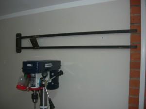 Общий вид на пробную установку светильника