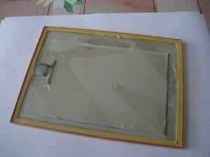 Вид на отремонтированную рамку фотографии