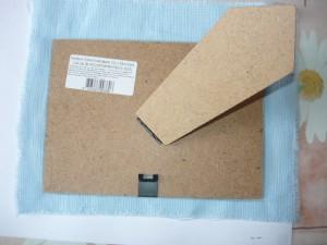 Определение размещения вышивки на подкладке
