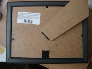 Фиксация подкладки в рамке