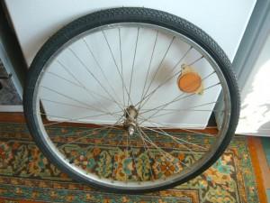 Вид на отремонтированное колесо