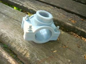 Накладка для подсоединения кранов к питающему водопроводу