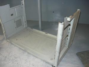 Обрезанная нижняя часть компьютера