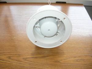 Вид на торцевой вентилятор спереди