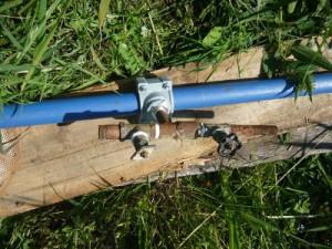 Подсоединение кранов к пластиковой трубе