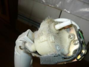 Вид на пыльный вентилятор