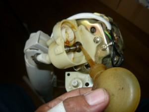 Смазка заднего подшипника напольного вентилятора