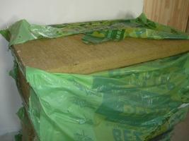 Запас плит утеплителя на монтируемую перегородку