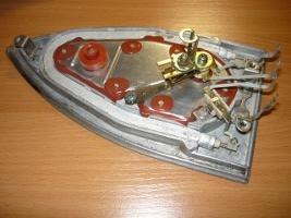Нижняя часть утюга в открытом состоянии