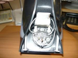 Смонтированный автомат на электрочайнике после ремонта