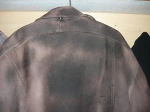 Покраска всей поверхности куртки