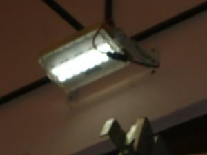 Проверка работы светодиодного светильника