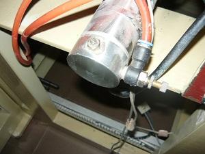 Подключение штуцера к воздушному цилиндру