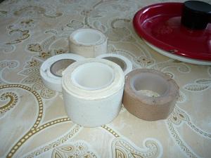Различные виды медицинского пластыря на тканевой основе