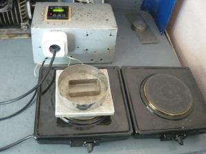 Электроплитка с терморегулятором