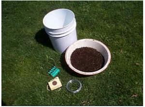 Комплект для сборки установки по получению компостного чая