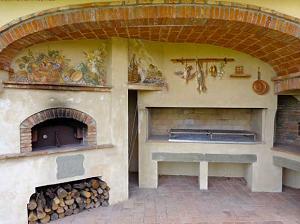 Традиционная итальянская печь для пиццы