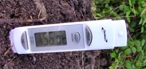 Утром термометр показал 56 градусов по Цельсию или это 135 по Форенгейту