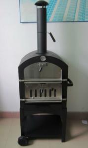 Чугунная печь для пиццы на дровах