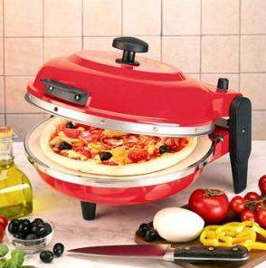 Электрическая мини печь для пиццы