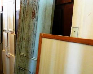 Выбранная старая дверь