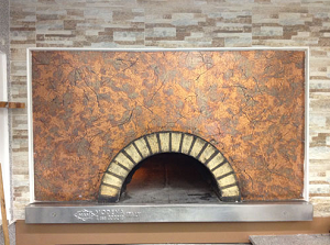 печь для пиццы на дровах
