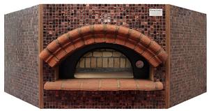 Печь дровяная для пиццы угловая