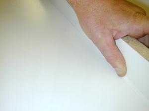 Проверка качества шва силикона для устранения недостатков