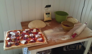 Готовая пицца для запекания в печи